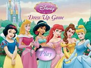 Play Disney Princess Dress Up