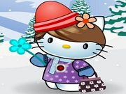 Play Hello Kitty Winter Dress Up
