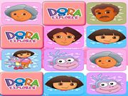 Play Dora Mega Memory Match