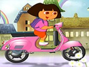 Play Dora Moto Ride