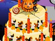 Play Halloween Cake Decoration