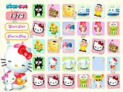 Play Hello Kitty Memory Matching