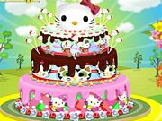 Hello Kitty Cake Decor