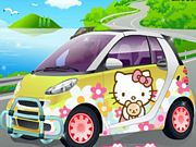 Hello Kitty Car Deco