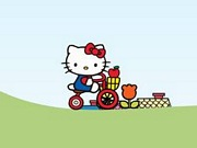 Play Hello Kitty City Bike Ride