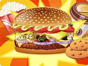Play Mushroom Melt Burger