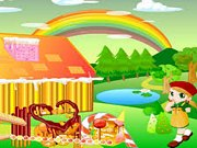 Play Rainbow Candy House Decor