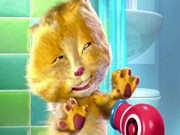 Play Talking Ginger Cat