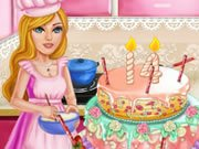 Play Cake For Barbie